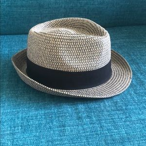D&Y Fedora Style Women's Summer Hat OS Brown